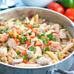 Cajun Chicken Pasta with Andouille