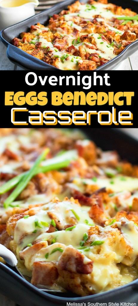 Overnight Eggs Benedict Casserole