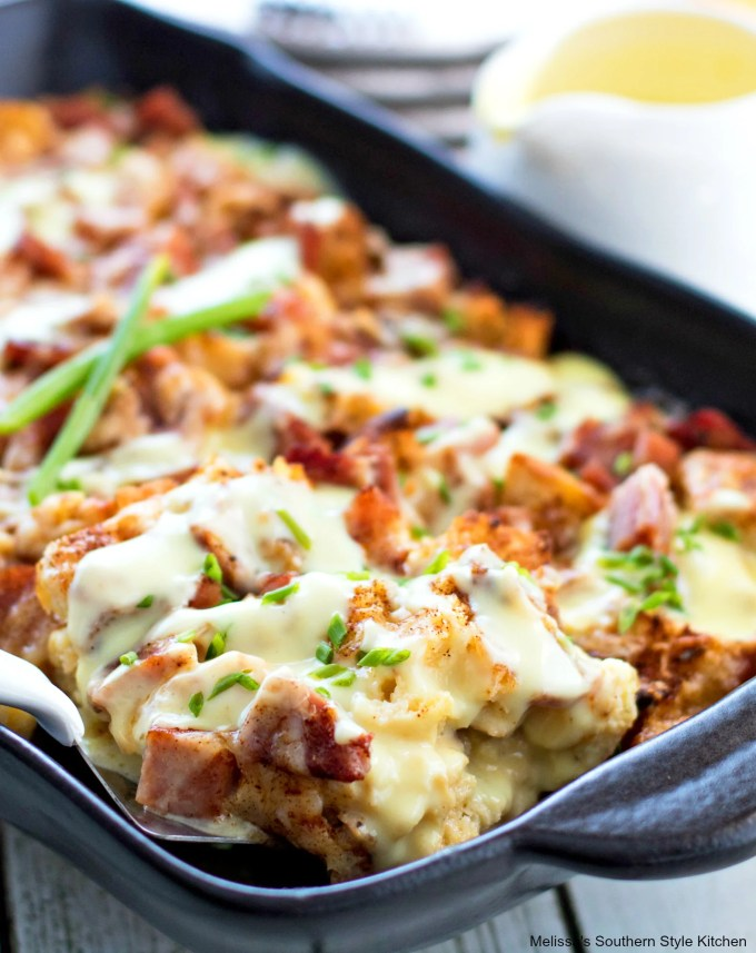 Baked Eggs Benedict Casserole