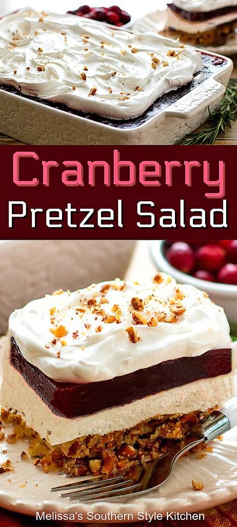 Cranberry Pretzel Salad