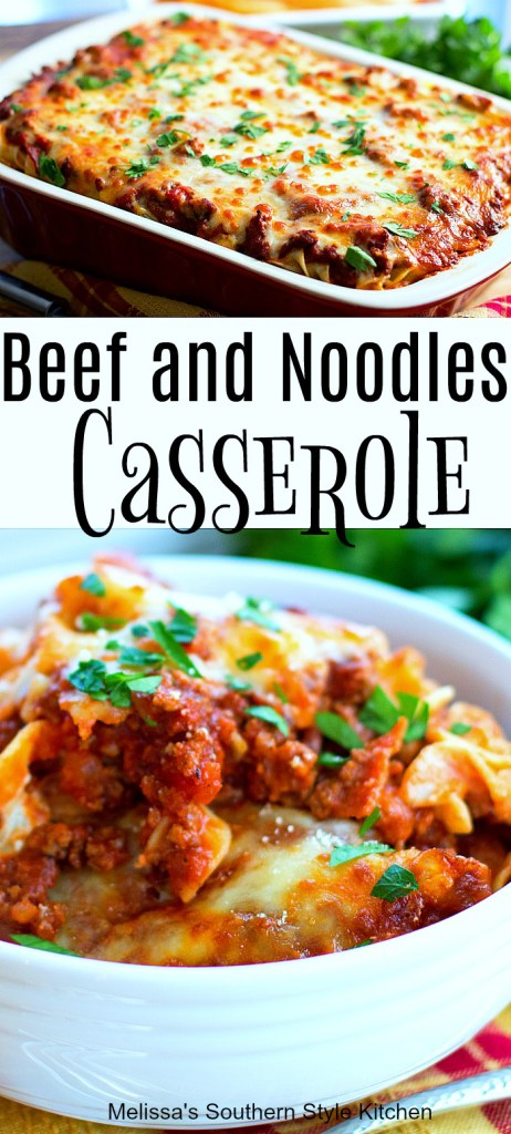 Beef and Noodles Casserole