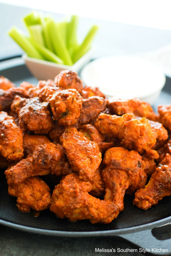 Baked Buffalo Wings Recipe