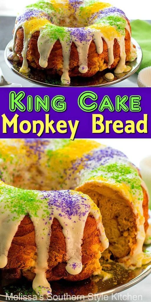 King Cake Monkey Bread