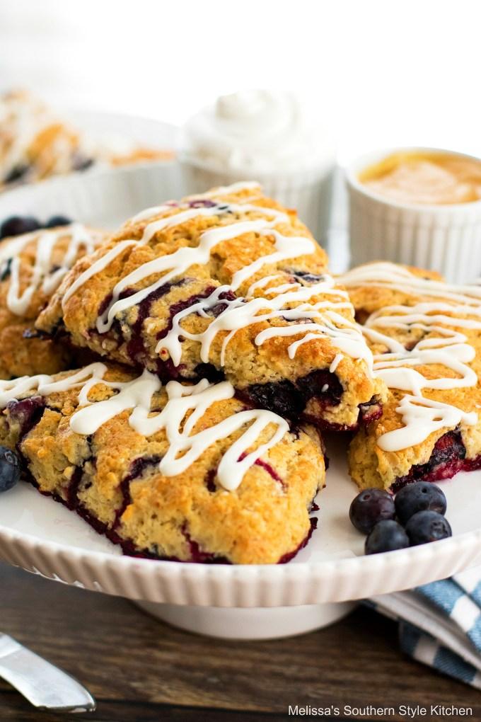 Blueberry Sour Cream Scones