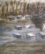 Στα ίχνη του μελισσοκόμου: έκθεση ζωγραφικής του Βασίλη Παφίλη