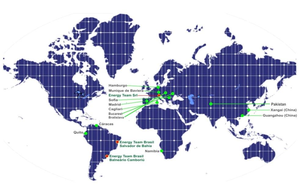 mappa mondo gruppo