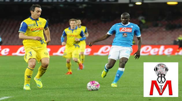 Napoli vs Chievo - Koulibaly