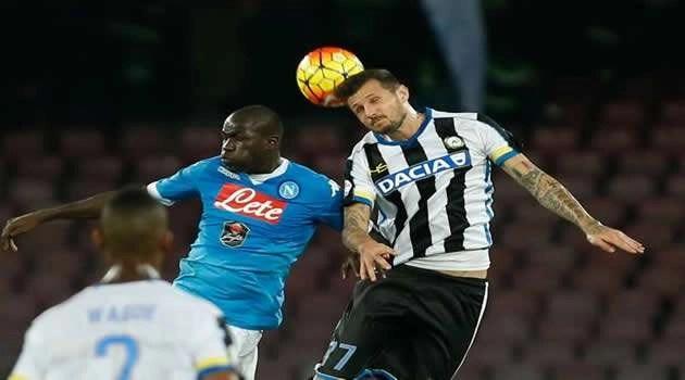 Napoli vs Udinese Koulibaly