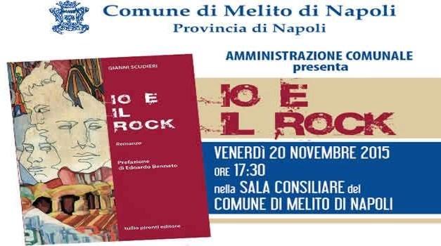 """MELITO, PRESENTAZIONE DEL LIBRO """"IO E IL ROCK"""""""