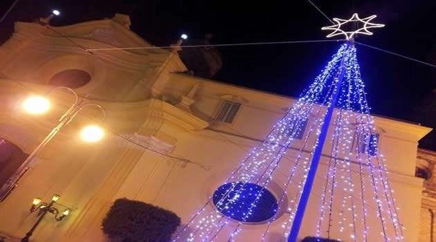 Melito, luci di Natale