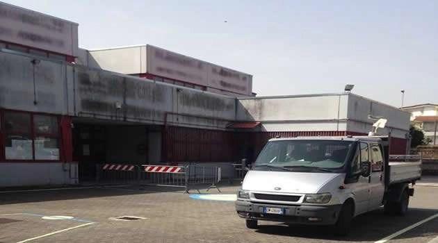 Melito scuola Falcone via Atene - manutenzione