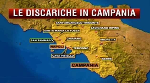 le discariche in Campania