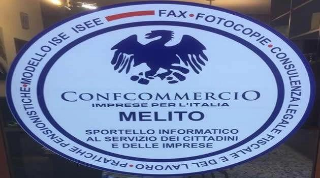 LA CONFCOMMERCIO IMPRESE PER MELITO A SOSTEGNO DEGLI  INDIGENTI
