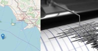Napoli - terremoto golfo