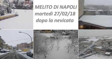 Melito - nevicata 27-02-18