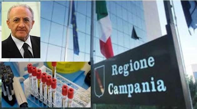 Napoli: Sanità, i laboratori campani incontrano il governatore De Luca