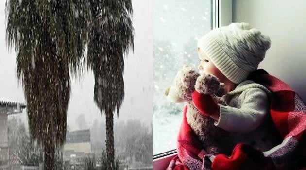 Neve e maltempo a Sant'Antimo, la situazione delle scuole