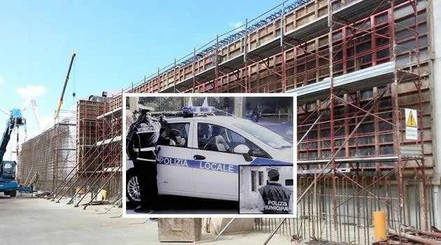 Sant'Antimo, sequestrato manufatto edile