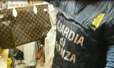 Lotta alla contraffazione, decine di arresti eseguiti dalla Guardi di Finanza