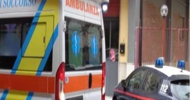 Melito - ambulanza carabinieri