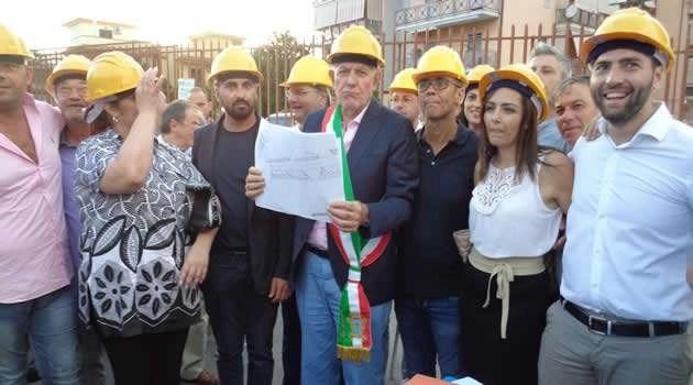 Melito: al via i lavori di riqualificazione in via Sandro Pertini