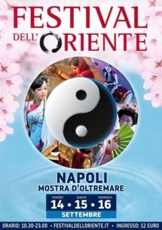 Napoli - Festival dell'Oriente locandina