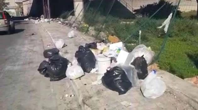 Melito - spazzatura via Melitiello