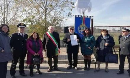 Melito. Cerimonia di intitolazione strada in onore di Leopoldo Cicala
