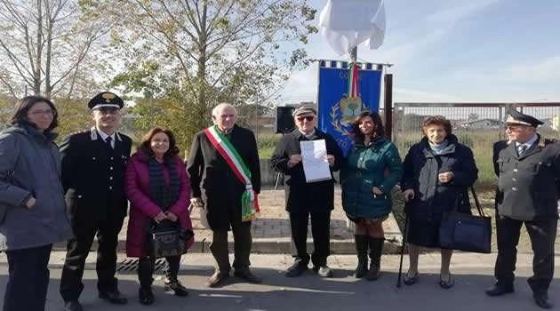 Melito - Cerimonia di intitolazione strada in onore di Leopoldo Cicala