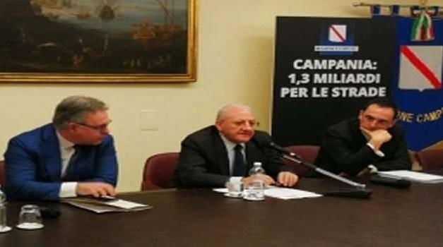 Piano strade Regione Campania. Pronto il  decreto di ammissione per il  Comune di Sant'Antimo