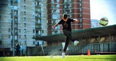 Scampia - campo sportivo Landieri