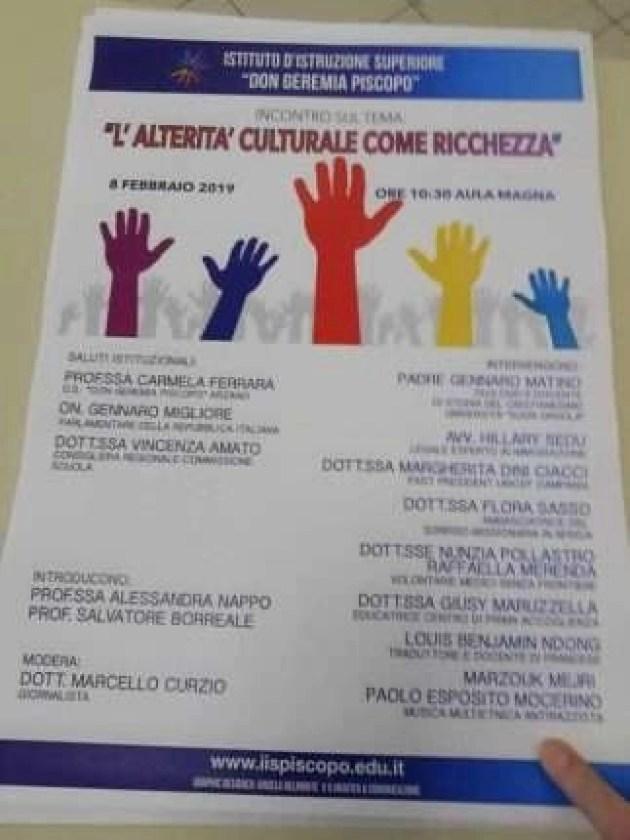 Arzano - convegno al don Geremia Piscopo locandina