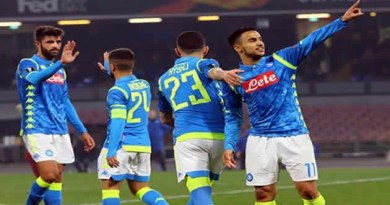 Europa League - Napoli vs Zurigo