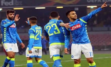 Ottavi di finale di Europa League raggiunti: al San Paolo è 2-0