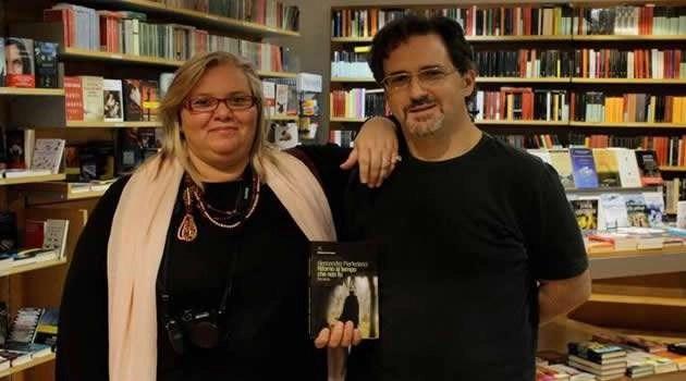 Lucia Mazzaria con il marito il Maestro Alessandro Pierfederici