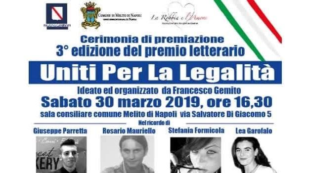 Femminicidi e vittime innocenti di camorra, sabato a Melito tutti uniti per la legalità