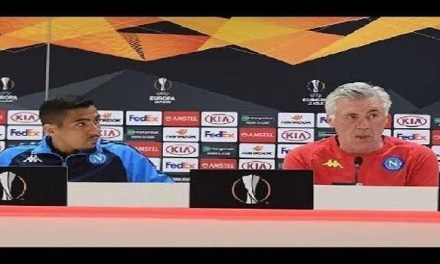 Vigilia e conferenza di Arsenal-Napoli: Ancelotti e Allan  credono in buon risultato domani…