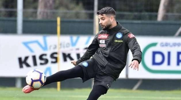 Insigne lavora senza sosta : potrebbe essere convocato e già  pronto col Genoa