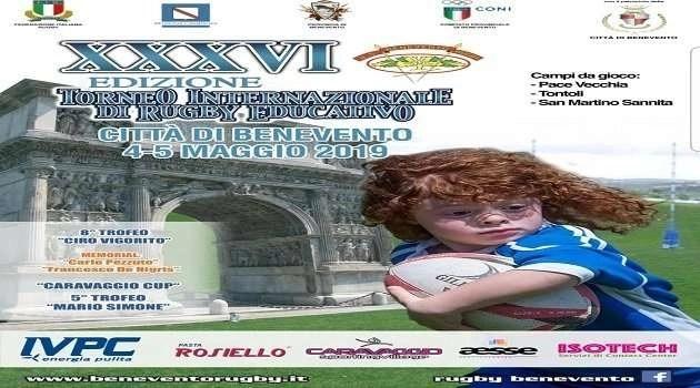 """Melito. La scuola """"Marino Guarano"""" al 35esimo Torneo Internazionale di Rugby Educativo"""