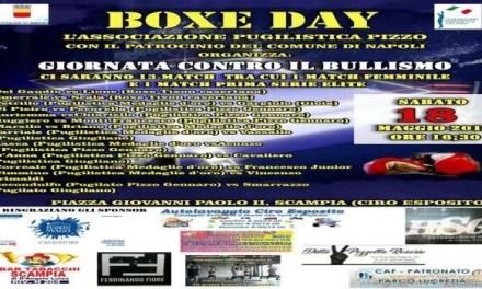 """Scampia. La giornata contro il bullismo con il """"Boxe day"""""""