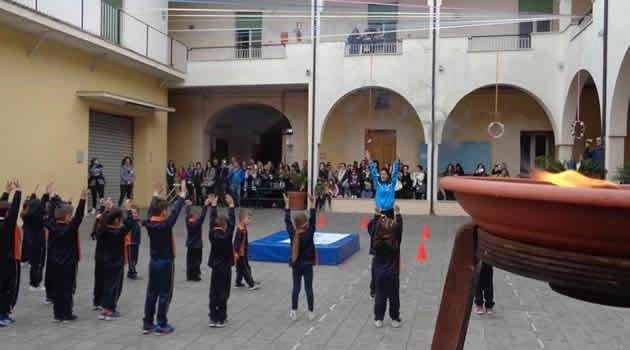 Melito festa sportiva alla scuola delle Ancelle Eucaristiche