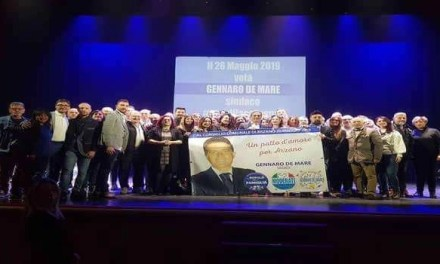 Presentata ieri la composizione delle liste ed il programma della coalizione a sostegno del candidato sindaco Gennaro De Mare