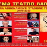 Quarta stagione teatrale al Cinema Teatro Barone