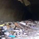 Ritrovata una vera e propria discarica in una galleria nel napoletano