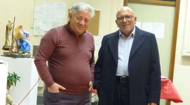 Carlo Melodia (a sx) con Mimmo Savino