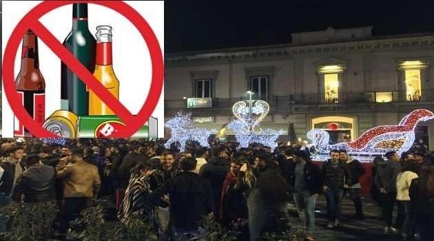 Vietata la vendita di alcolici a Piazza Matteotti
