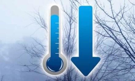 Tracollo delle temperature in tutta Italia, minime sotto lo 0