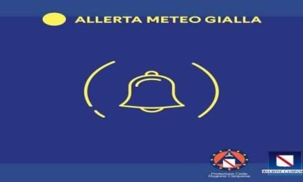 +++ALLERTA GIALLA IN CAMPANIA+++