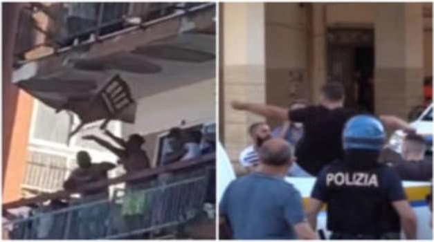 Focolaio a Mondragone: continuano le rivolte, ferito anche un agente