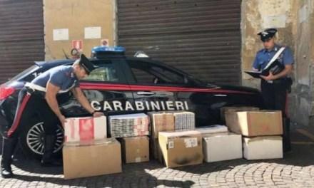 Secondigliano e Ottaviano: sequestrata mezza tonnellata di sigarette di contrabbando